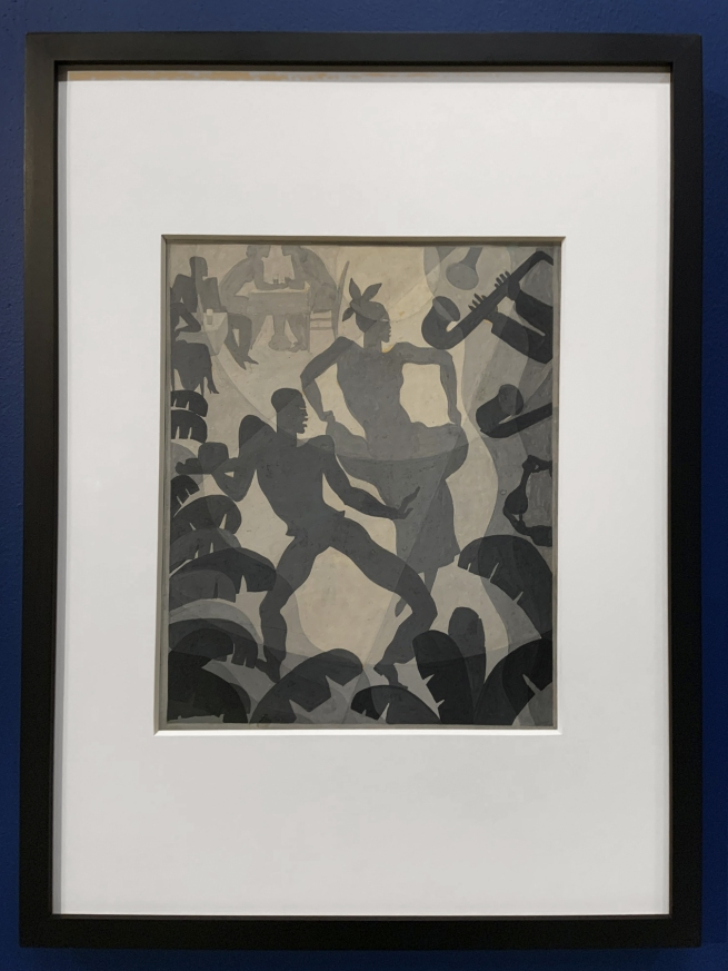 Aaron Douglas. 'Dance' c. 1930 (installation view)
