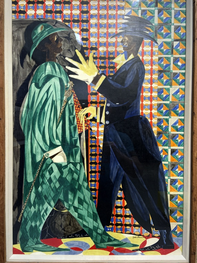Jacob Lawrence. 'Vaudeville' 1951 (installation view)