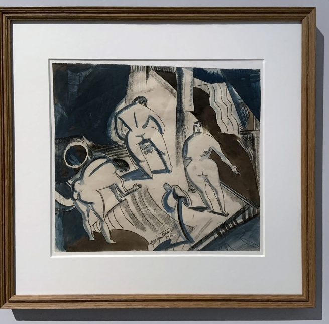 Wyndham Lewis. 'Indian Dance' 1912 (installation view)