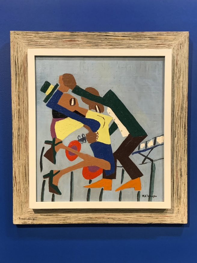 William H. Johnson. 'Jitterbugs (III)' c. 1941 (installation view)