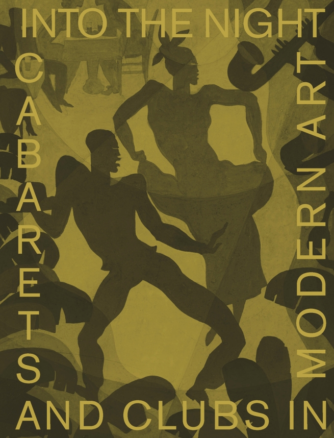 Catalogue cover for 'Into the Night: Cabarets and Clubs in Modern Art' at the Barbican Art Gallery, London