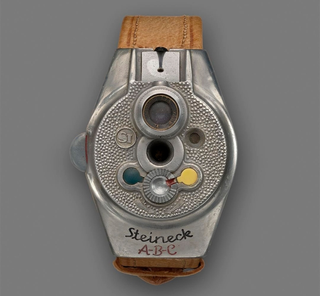 Steineck Kamerawerk (Tutzing, West Germany) 'Steineck ABC Wristwatch Camera' 1949
