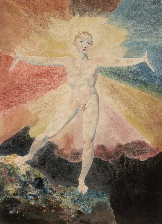 William Blake (British, 1757-1827) 'Albion Rose' c. 1793
