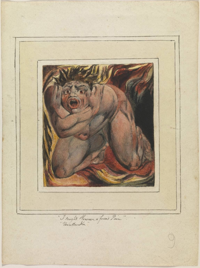 William Blake (British, 1757-1827) 'First Book of Urizen' pl. 6 1796, printed c. 1818