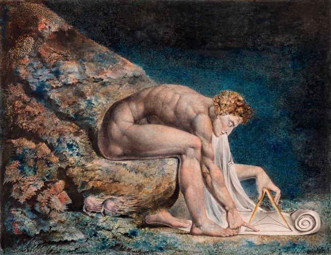 William Blake (British, 1757-1827) 'Newton' 1795 - c. 1805