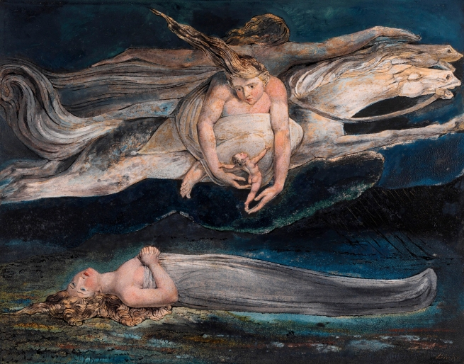 William Blake (British, 1757-1827) 'Pity' c. 1795
