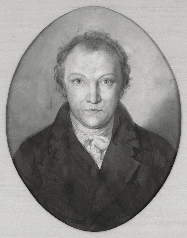 William Blake (British, 1757-1827) 'Portrait of William Blake' c. 1802