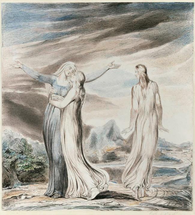 William Blake (British, 1757-1827) 'Ruth the Dutiful Daughter in Law' 1803