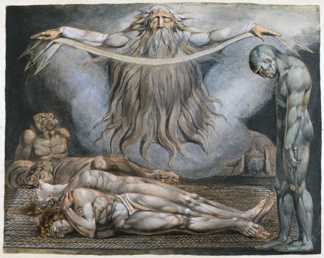 William Blake (British, 1757-1827) 'The House of Death' 1795 - c.1805