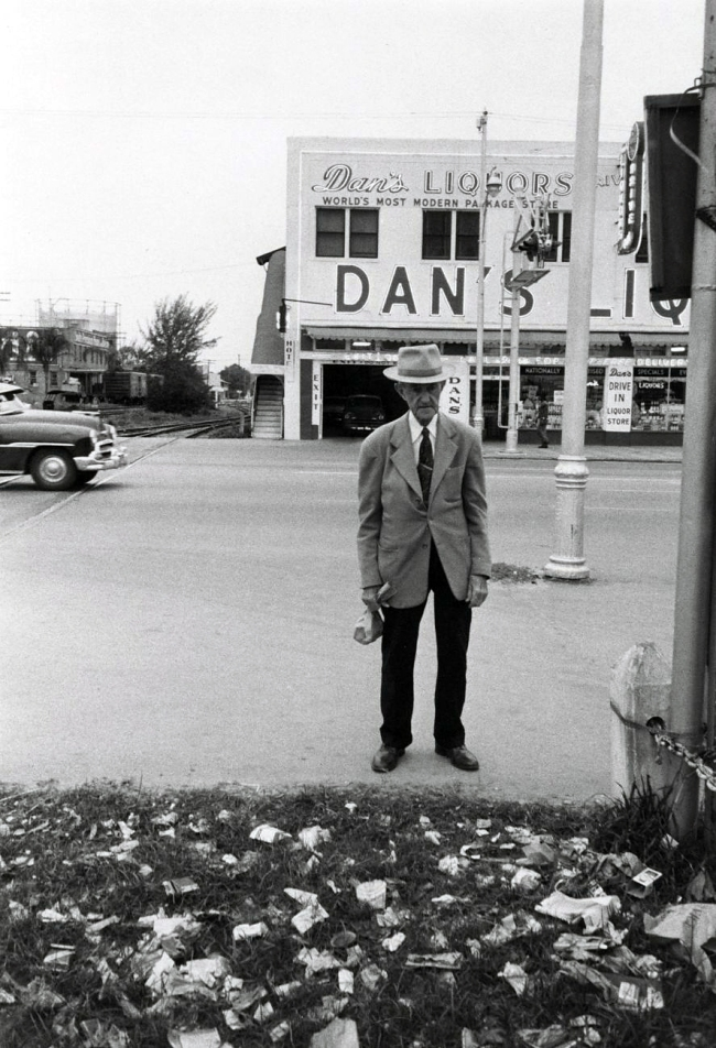 Robert Frank (American, 1924-2019) 'Florida' 1956