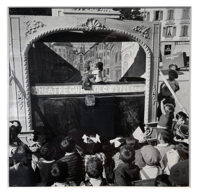 Robert Frank (Swiss-American, 1924-2019) 'Geneva' 1945 (installation view)