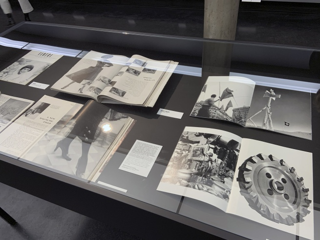 Robert Frank (Swiss-American, 1924-2019) 'Portfolio. 40 Photos' 1941-46 (installation view)