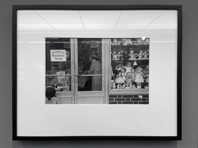 Robert Frank (Swiss-American, 1924-2019) 'Paris' 1949 (installation view)