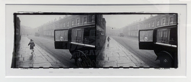 Robert Frank (Swiss-American, 1924-2019) 'London' 1951 (installation view)