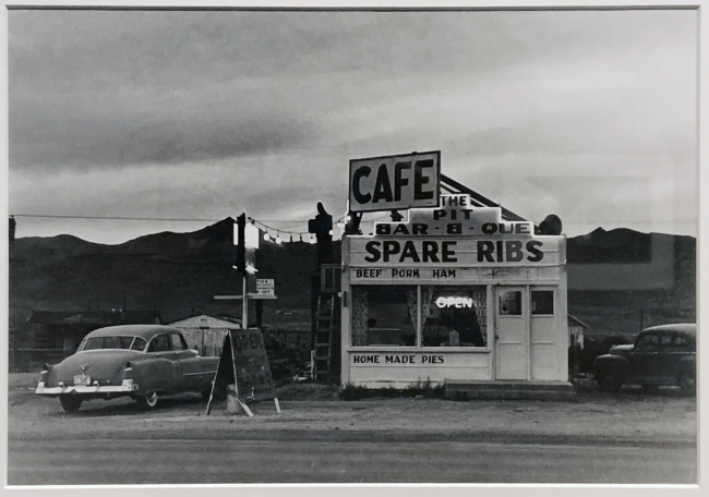 Robert Frank (American, 1924-2019) 'Nevada' 1956 (installation view)