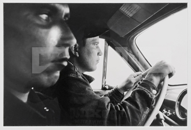 Robert Frank (Swiss-American, 1924-2019) 'Route US 91, leaving Blackfoot, Idaho' 1956 (installation view)