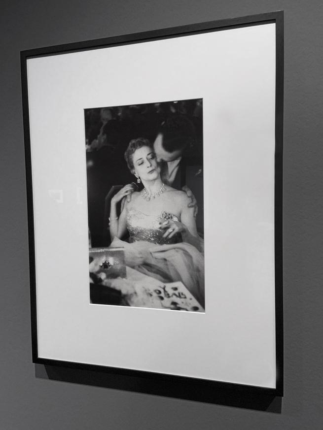 Robert Frank (American, 1924-2019) 'Charity Ball, New York' 1954 (installation view)