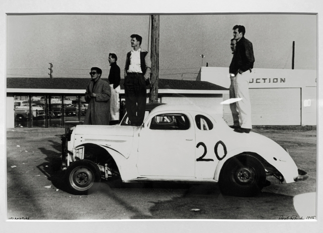Robert Frank (American, 1924-2019) 'Los Angeles' 1956 (installation view)