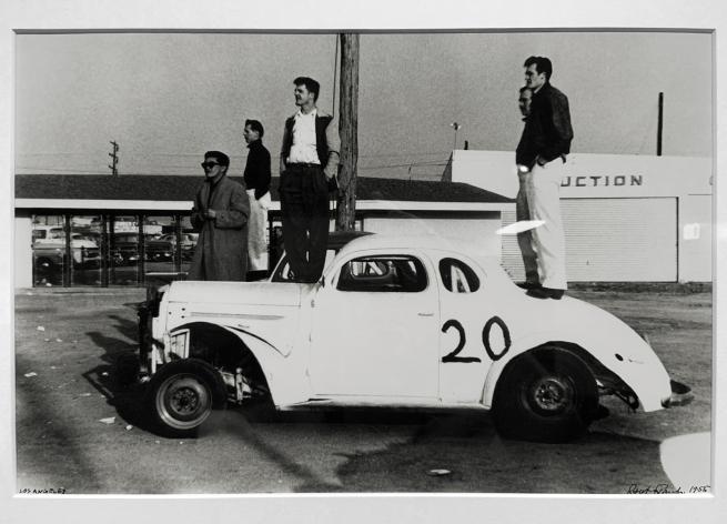 Robert Frank (American, 1924-2019) 'Los Angeles' 1956 (installation view)