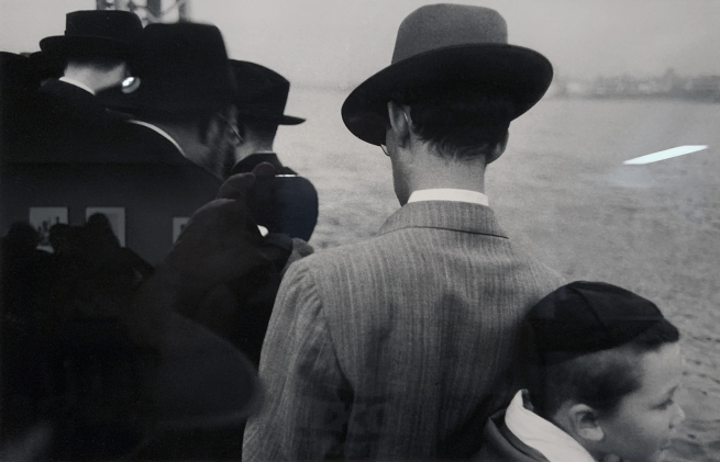 Robert Frank (American, 1924-2019) 'Yom Kippur - East River, New York City' 1954 (installation view)
