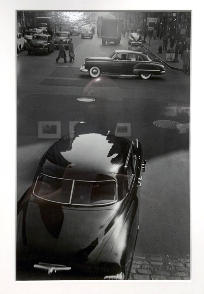 Robert Frank (American, 1924-2019) '42nd Street, New York' early 1950s (installation view)