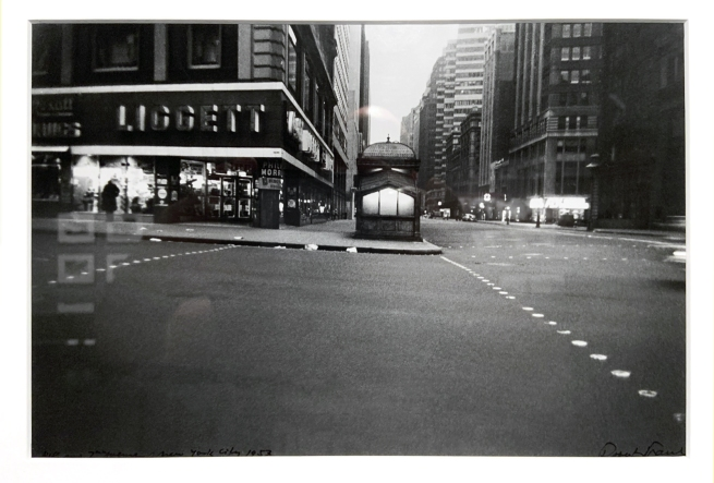 Robert Frank (American, 1924-2019) '41st Street and 7th Avenue' 1953 (installation view)