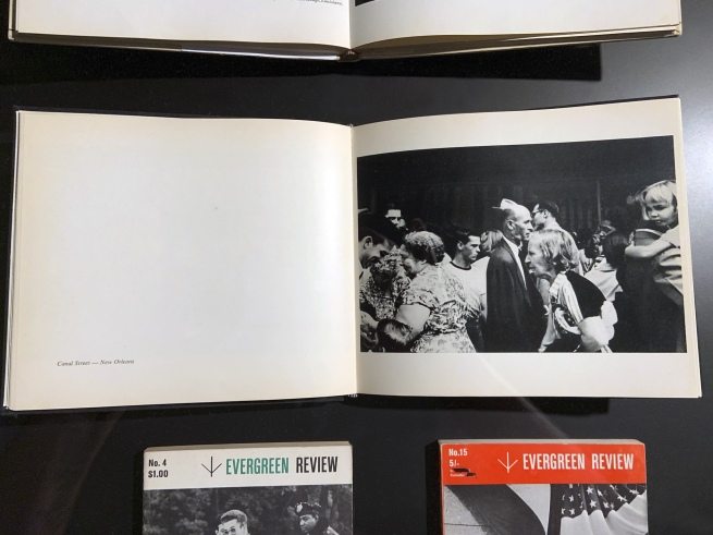 Robert Frank. 'The Americans' pages (installation view)