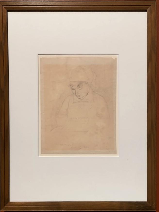 William Blake (British, 1757-1827) 'Catherine Blake'1805 (installation view)