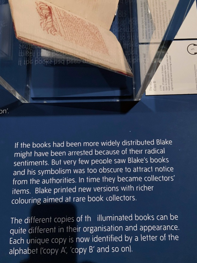 William Blake label text