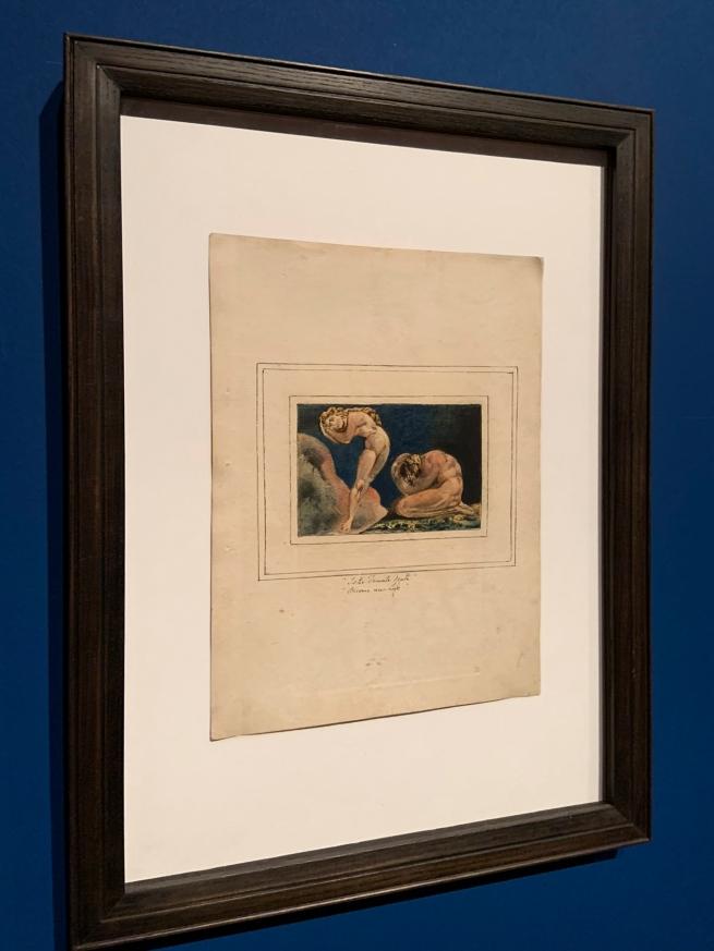 William Blake (British, 1757-1827) 'First Book of Urizen, Plate 17' 1796, c.1818 (installation view)