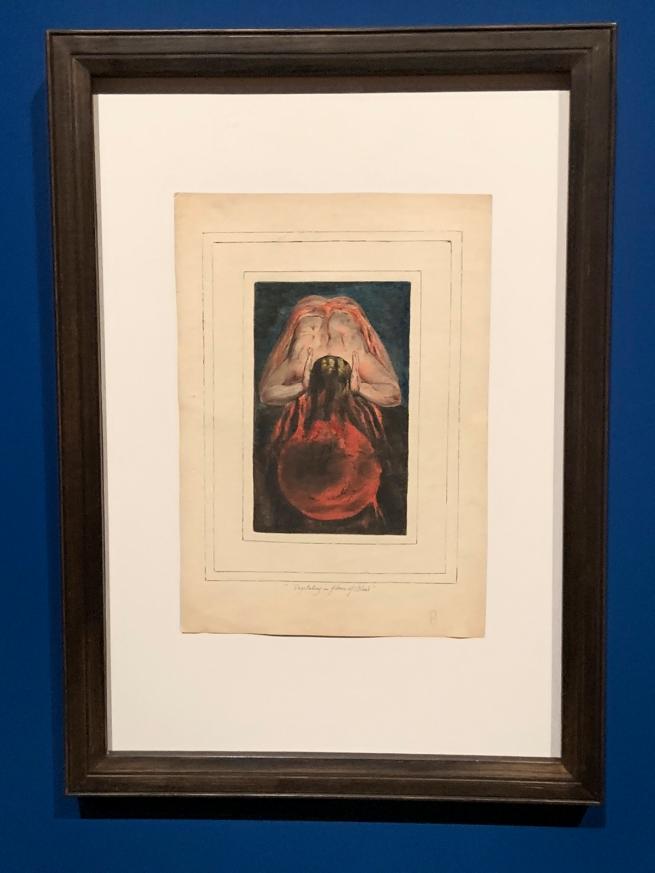 William Blake (British, 1757-1827) 'First Book of Urizen, Plate 15' 1796, c. 1818 (installation view)
