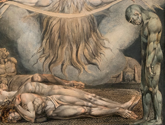 William Blake (British, 1757-1827) 'The House of Death' 1795 - c.1805 (installation view)
