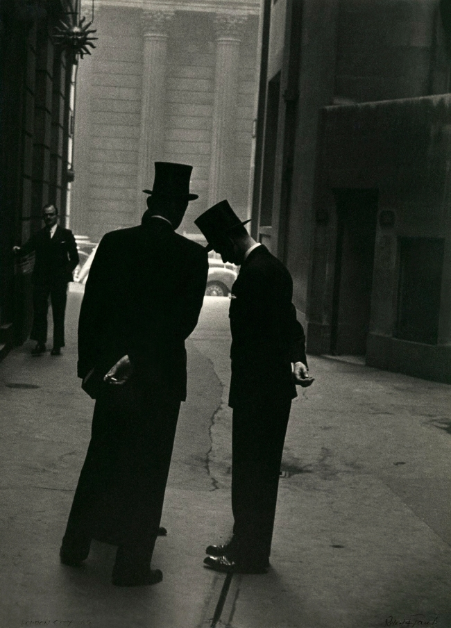 Robert Frank (Swiss-American, 1924-2019) 'London' 1951