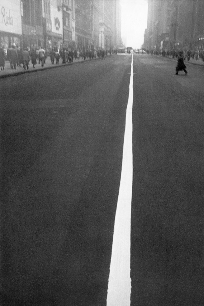 Robert Frank (Swiss-American, 1924-2019) 'New York' c. 1949