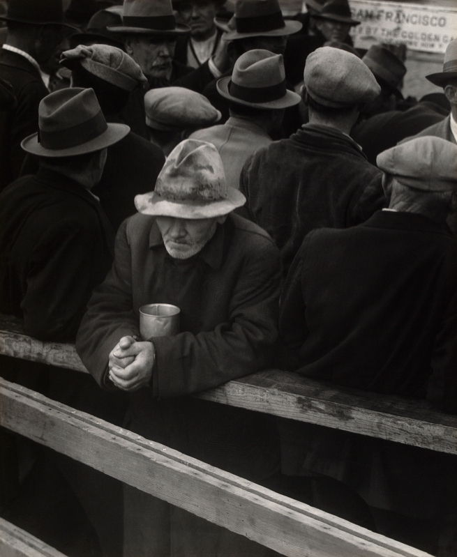 Dorothea Lange (American, 1895-1965) 'White Angel Bread Line, San Francisco' 1933
