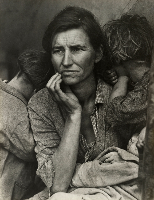 Dorothea Lange (American, 1895-1965) 'Migrant Mother, Nipomo, California' March 1936