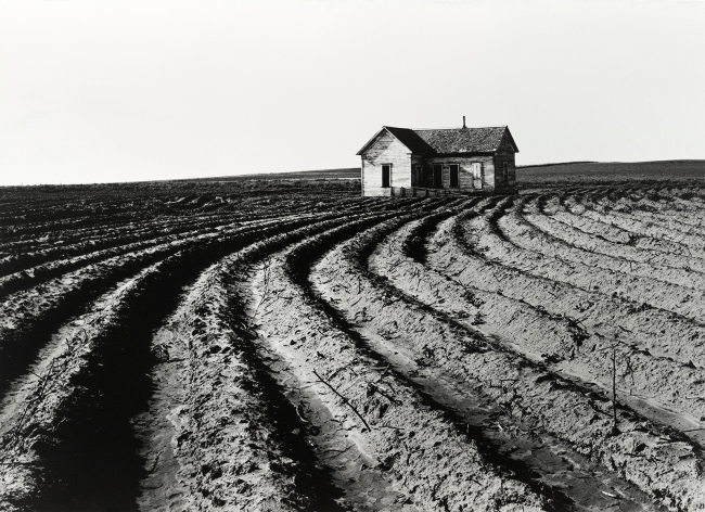 Dorothea Lange (American, 1895-1965) 'Tractored Out, Childress County, Texas' 1938