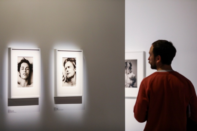 Installation view of 'Masculinities: Liberation through Photography' at Barbican Art Gallery on February 19, 2020 in London, England