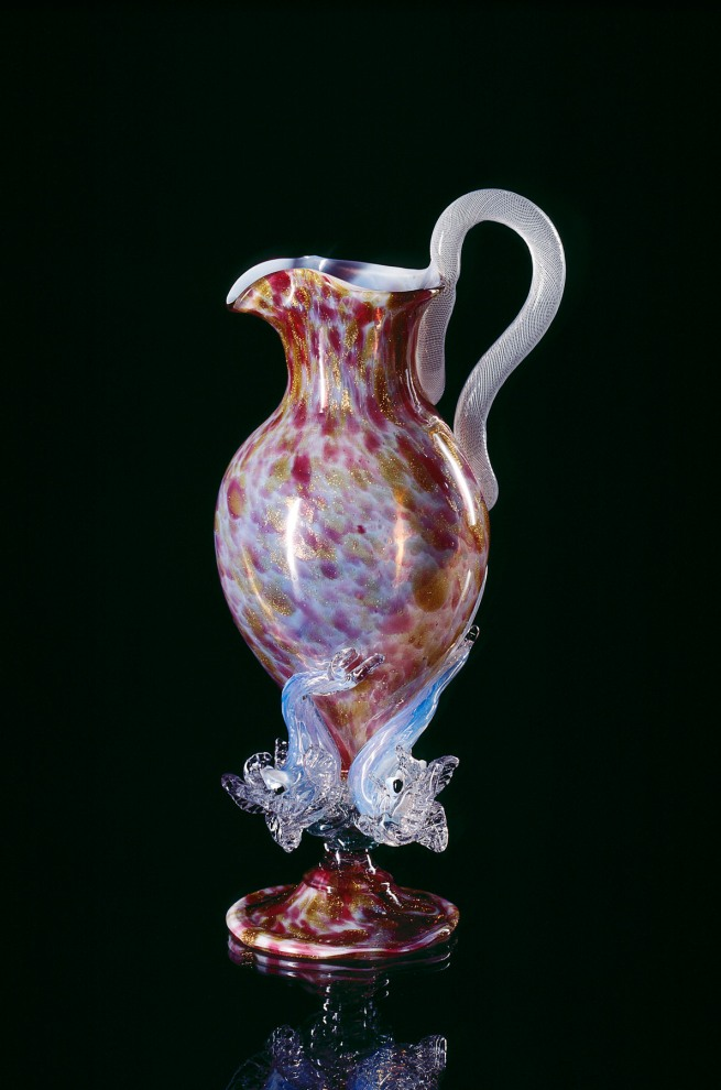 Venice and Murano Glass and Mosaic Company, Venice (manufacturer) Italy est. 1859 'Ewer' c. 1880
