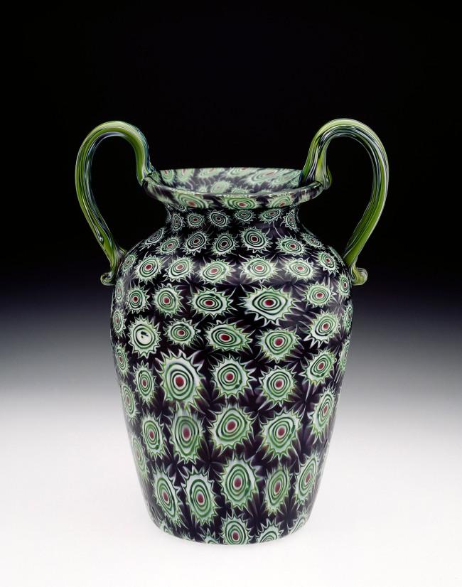 Vetreria Fratelli Toso, Murano, Venice (attributed to) (manufacturer) Italy 1854-1901 'Vase' c. 1890-1900