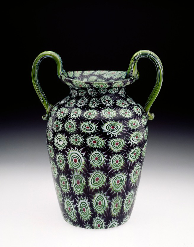 Vetreria Fratelli Toso, Murano, Venice (attributed to) (manufacturer) Italy 1854-1901 'Vase' c. 1890-1900