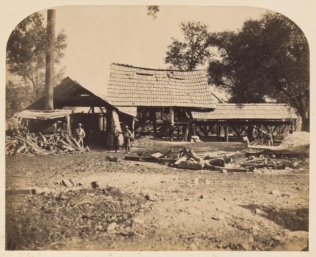 Carleton Watkins (American, 1829-1916) '[Guadalupe Mill]' 1860