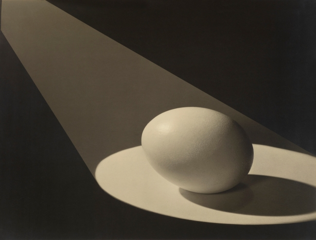 Paul Outerbridge (American, 1896-1958) '[Egg in Spotlight]' 1943