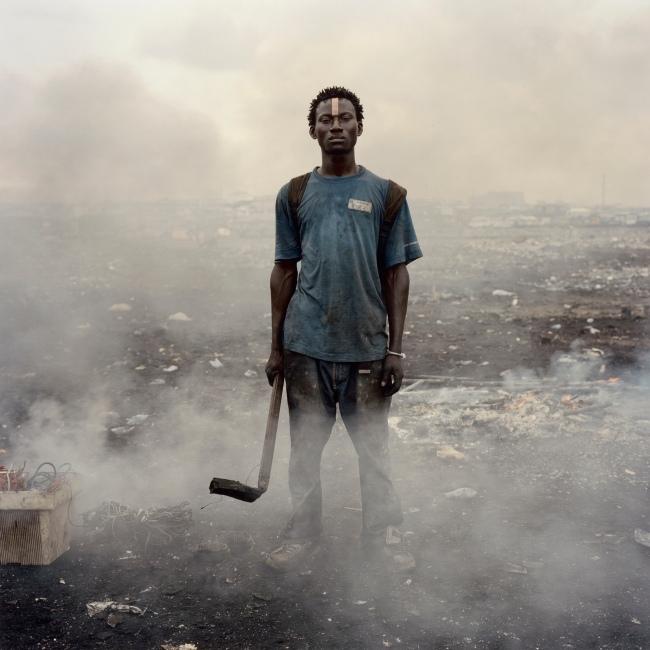Pieter Hugo (South African, born 1976) 'Aissah Salifu, Agbogbloshie Market, Accra, Ghana' 2010