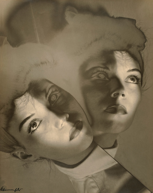 Erwin Blumenfeld (American, born Germany, 1897-1969) 'Maroua Motherwell, New York' 1941-1943