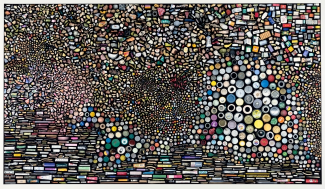 Hong Hao (Chinese, b. 1965) 'My Things No. 5 - 5,000 Pieces of Rubbish' 2002