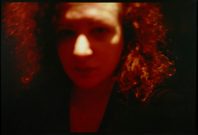 Nan Goldin (American, b. 1953) 'Self Portrait, Red, Zurich' 2002