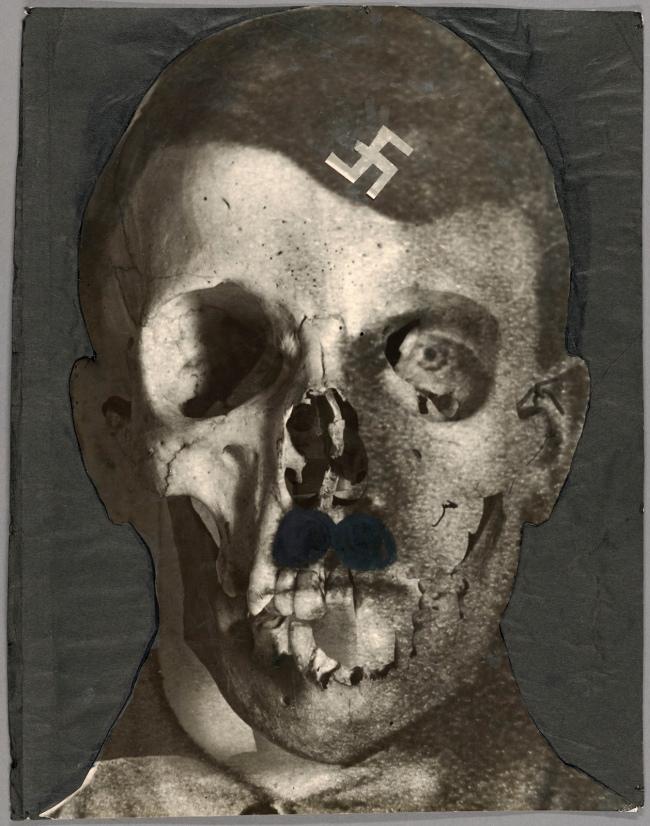 Erwin Blumenfeld (American, born Germany, 1897-1969) 'Hitlerfresse (Hitler's Mug)' January 30, 1933