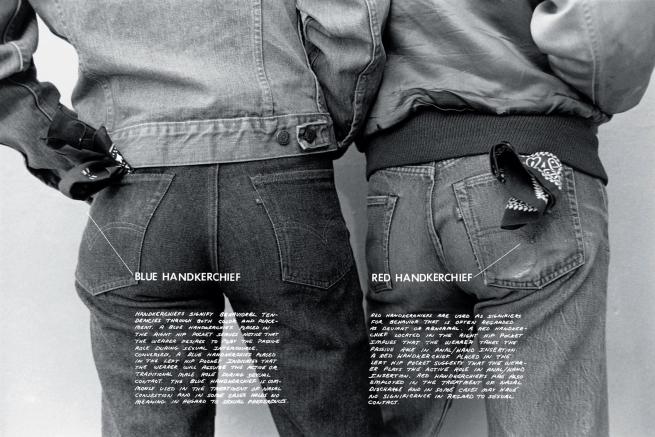 Hal Fischer (American, b. 1950) 'Handkerchiefs' 1977