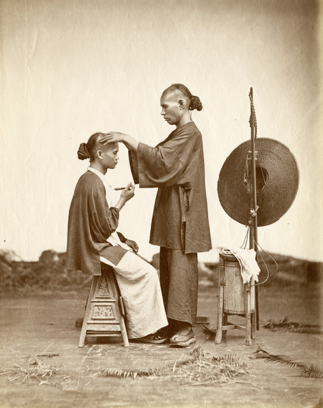 Lai Fong (Chinese, c. 1839-1890) '[Itinerant barber]' 1870s